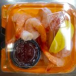 Grab-n-go shrimp cocktail boxes in the retail market