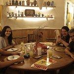 Um ótimo lugar pra um jantar com a família