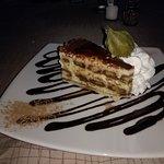 Tiramisu to share for dessert -So Yummy.