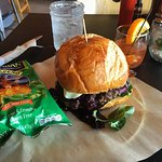 The Goat Cheese Blueberry Burger
