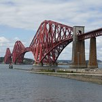 The Forth Bridge, now only used by trains