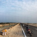 The road to Dhanushkodi
