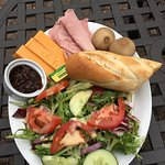 Ploughman's Salad ... huge and lovely.