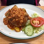 Ordered jacket potato and the super breakfast. Lovely food