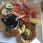 Seafood platter - delicious!