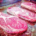 Angus Rib Eye Steak Nebraska U.S.A.