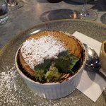 Best dessert I've had in a long time, pistachio soufflé