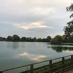 Tramonto sul laghetto