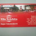 Bistro Vila Velebita Foto