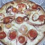 Piza seafood