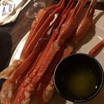 Loved the crab legs and paper straws