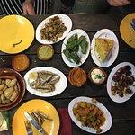 Various selection of tapas