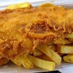 Our delicious crispy fish!