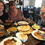 Stop off at the Masala Hut on our way back from Fort William to Dover.