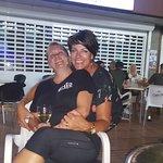 Sarah & Margaret having a few mid week Gins 👌