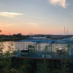 Rockland Harbor at Sunset