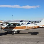 Cessna 172.  This is the primary airplane used for pilot training.