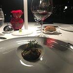 Vandama Negramoll en el Restaurante La Aquarela
