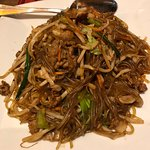 Thanks to BroS w/his comps :) #36 japchae - their version of the popular Korean glass noodle w/m