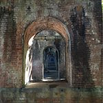 view through the arches