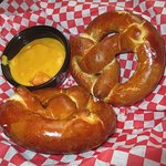 Bavarian Pretzels with Cheese Dipping Sauce