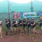 Grupo de pasajeros CONEA - Paintball - Oropesa