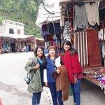 En el mercado de Pisac!