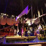 stage (ship) Mirmaid, treasure, pirates, fighting...
