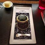 Signature caviar and crab salad