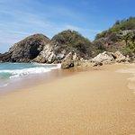 Hacia donde termina la playa nudista en zipolite