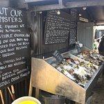 Amazing fresh oysters!
