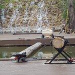 ภาพถ่ายของ Dells Lumberjack Show