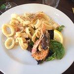 Frittura calamari e gamberi