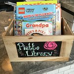 Little library - all kids books with pizza as the theme