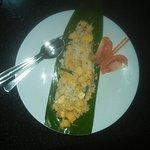 Mango coconut salad