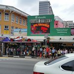 One side of Bugis Street