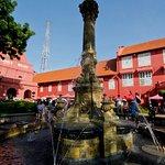 Nice fountain too.