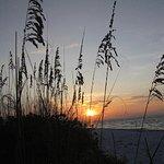 Beautiful sunset on Bean Point, Anna Maria Island.