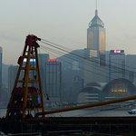香港天際線照片
