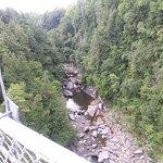 gorge vue sur le pont