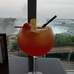 Shirley Temple with a view