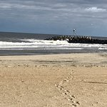 Surfing Beach at Manasquan Inlet