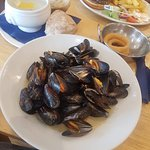 Large serving of Mussels