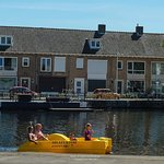 Richting centrum van Tilburg