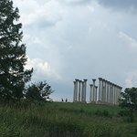 columns - great photo spot though under construction (august 2018)