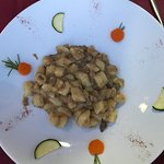 Gnocchi with duck sauce