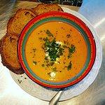 Sweet potato and pumpkin soup