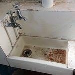 Sink in the ladies' room