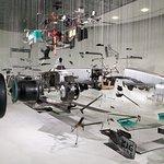 Artwork of F1 car