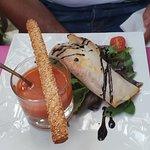 Restaurant Les Baux Foto